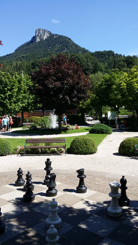 Outdoor Chess in Fuschl