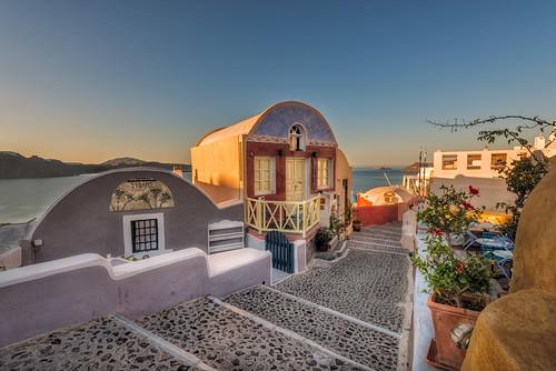 sunrise nopeople santorini greece oia egeo earlymorninglight colourimage leefilters nikond800 lee06gndsoft phottixgeoone nikkor1635mmf40