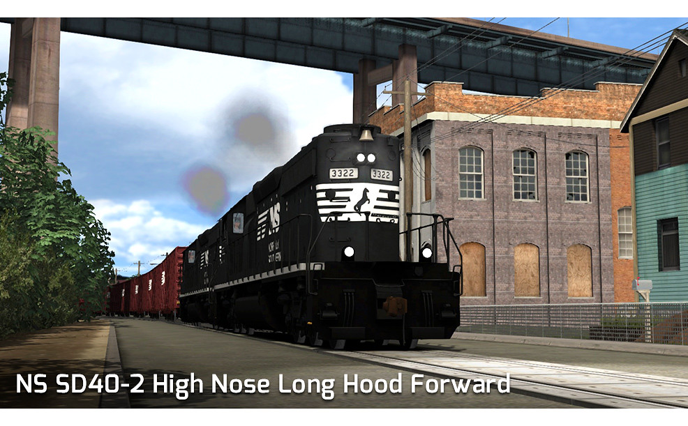 Norfolk Southern SD40-2 High Nose LHF