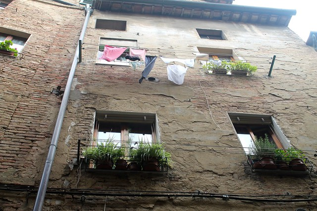 Laundry Day in Tuscany