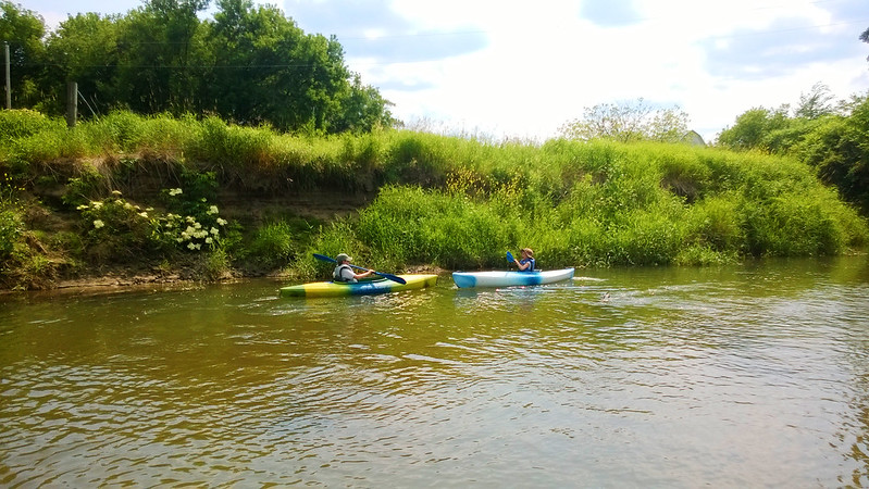 day 3669: rolling down the (kickapoo) river! II.