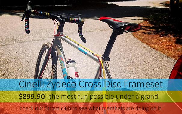 Cinelli Zydeco Disc Frame $899