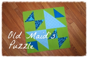 Old Maid's Puzzle Block
