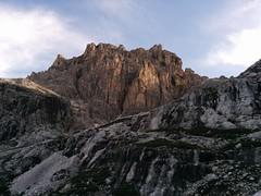 Aufstieg Schusterplatte Sextner Dolomiten