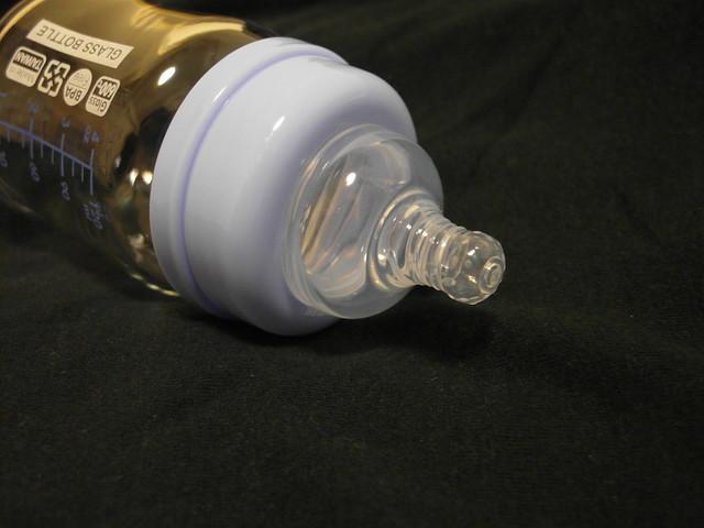 防脹氣奶嘴 @KUKU 酷咕鴨晶亮加厚玻璃奶瓶