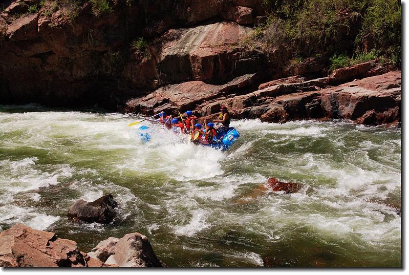 Rafting on the Arkansas River 2