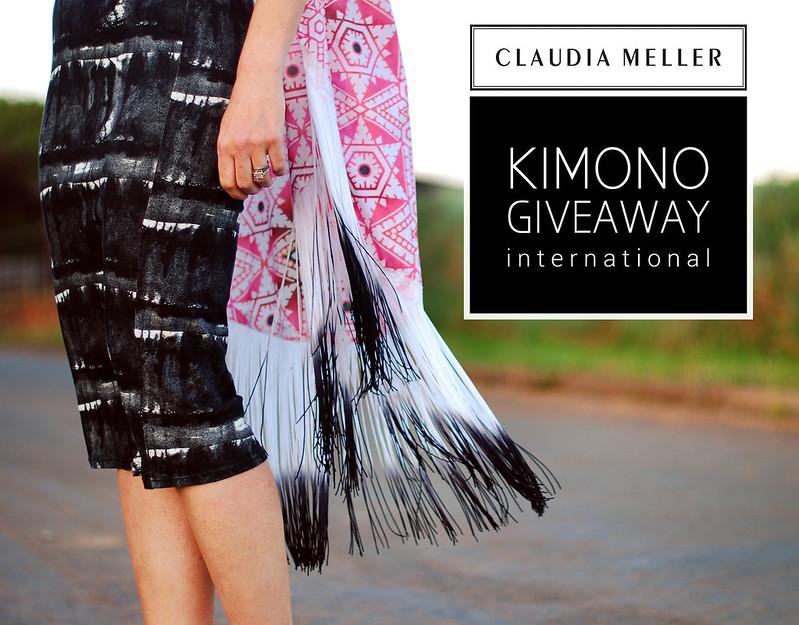 Claudia Meller kimono giveaway