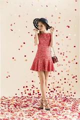 inspiration, alameda dress pattern, flounce skirt