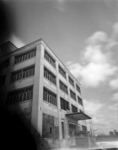 Pinholed Kodak