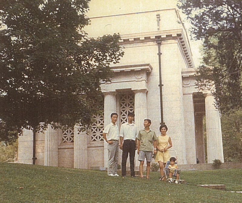 Lincoln Birthplace in August 1970 #2