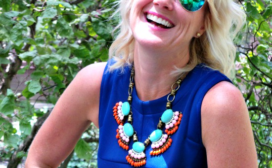 Hi Sugarplum | {Outfit Inspiration} Cobalt & Aqua