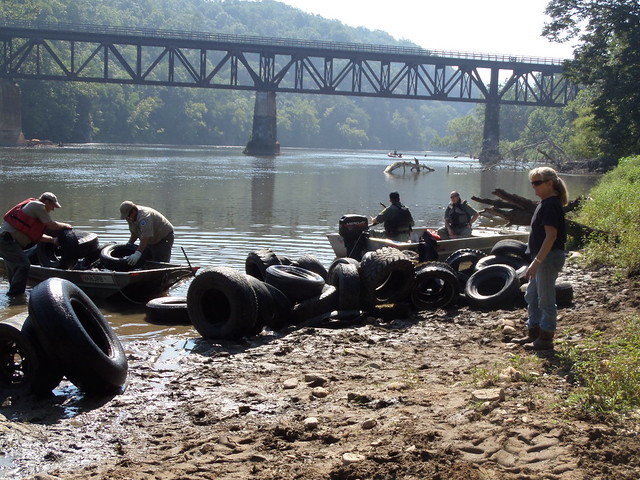 If you missed it, it is not too late. You will have another opportunity to help with a New River Clean-up on Wednesday, August 27, 2014.