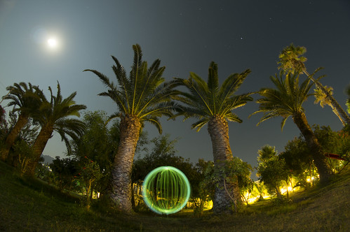 light 2 moon lightpainting tree art beach turkey painting palms stars t hotel sony attack orb kos palm led full fisheye greece ii pro alpha 8mm walimex tool 250 slt 57 bodrum aldi giga a57 lenser tigaki hähnel culmann nanomax