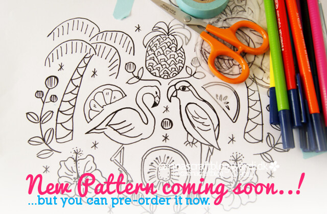Tropical pattern in progress