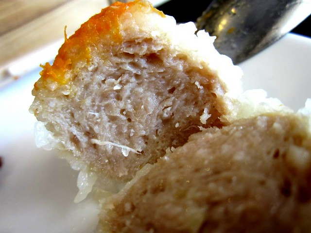 Fish Cultue glutinous rice ball with meat filling