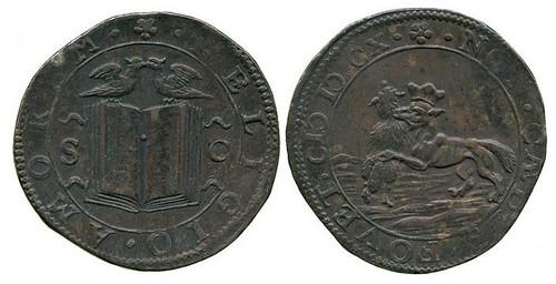 1610 Jeton on the Assassination of King Henri IV