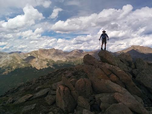 Britt atop Point 12,955