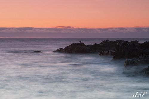sunset sea españa island atardecer mar spain nikon long exposure canarias punta tenerife canary isle teno larga exposición d300s