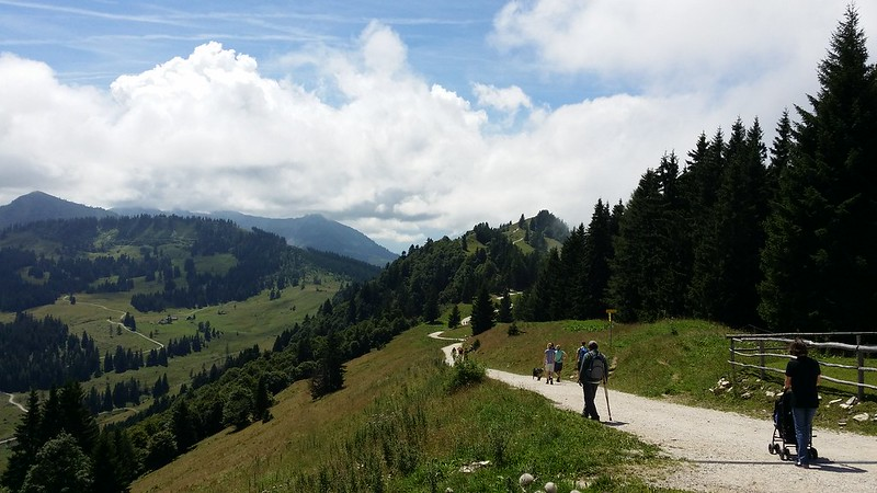 The ridgewalk to Pillstein