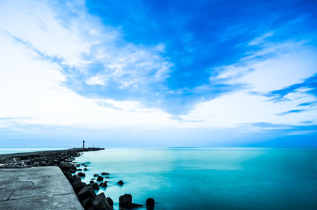 【一張流】美麗的意外 - 外埔漁港隨拍