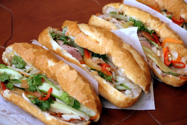Banh Mi from the streets of Saigon
