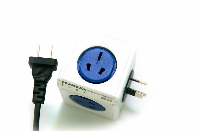 PowerCube 方塊設計延長線 / 充電器(與台灣用修改法)@3C 達人廖阿輝