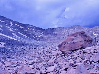 Big Boulder in Northeast Basin of Gladstone Peak