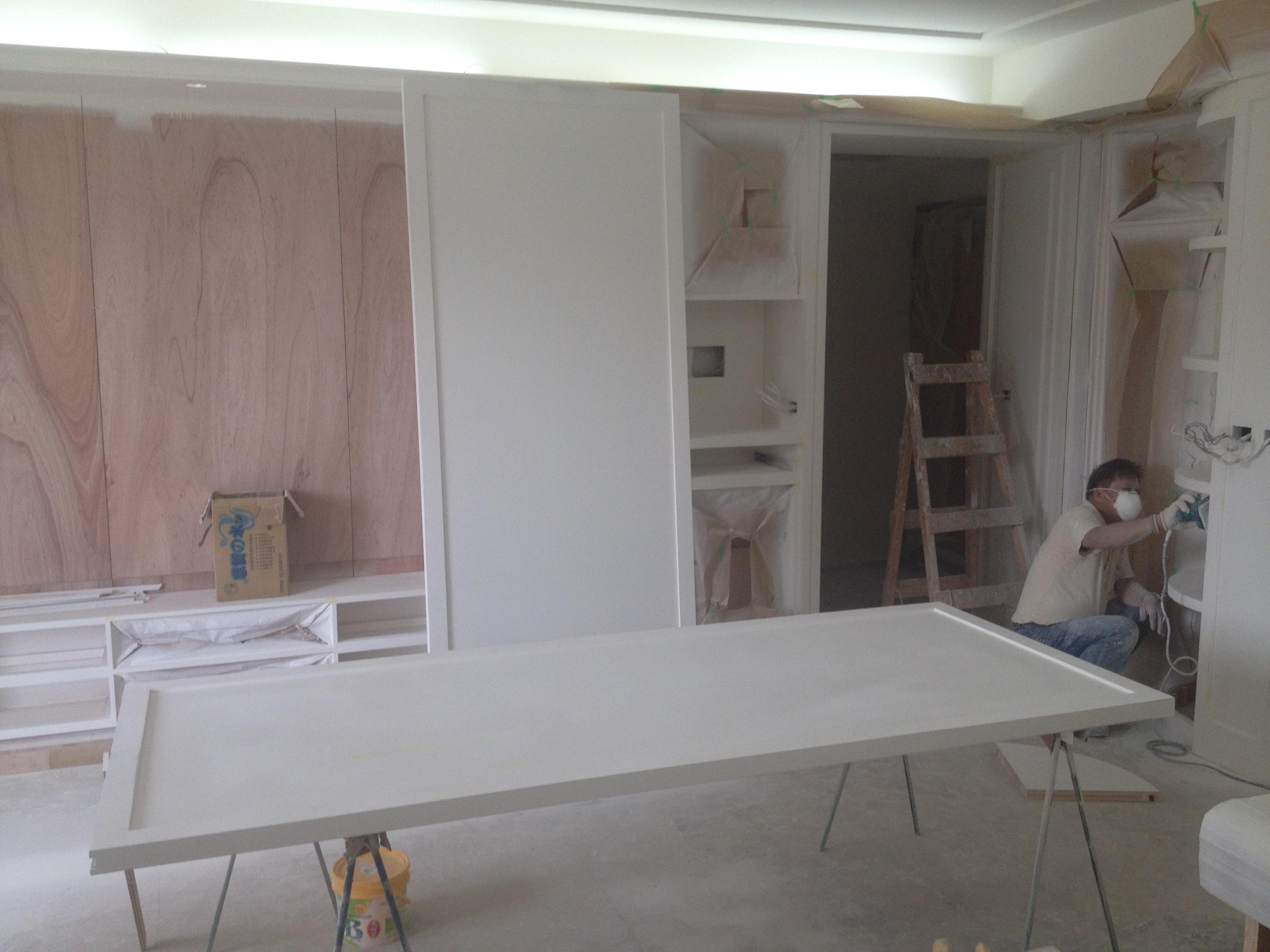 木作油漆施工流程2