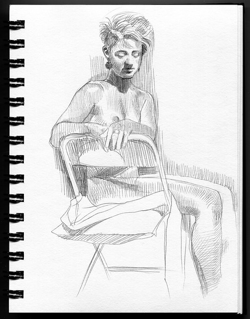 life drawing at Redline Denver