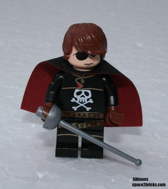 Albator, Captain Harlock Lego p3