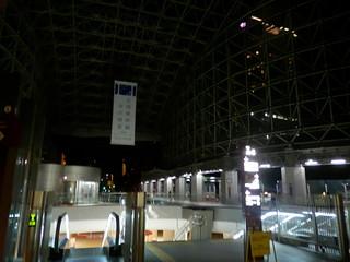金沢駅周辺の夜景|Kanazawa Station Area Night Scene
