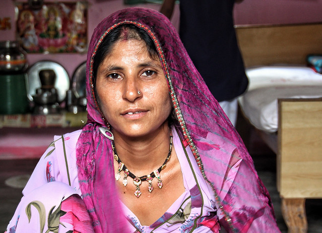 Woman in Barmer, Rajasthan-India