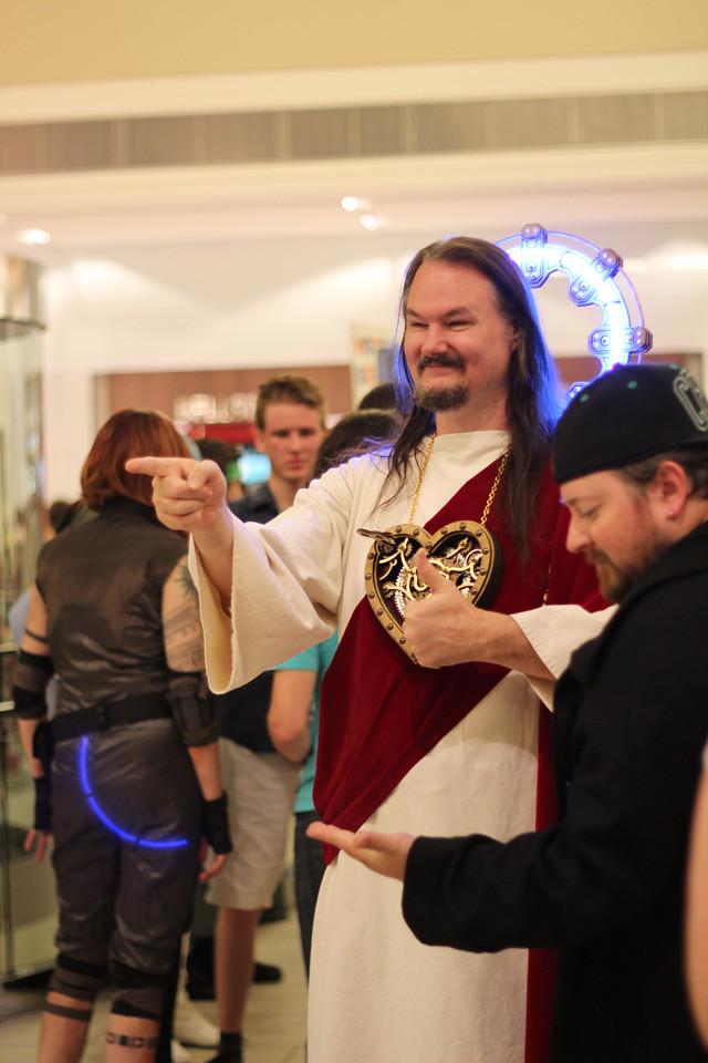 Steampunk Jesus Costume