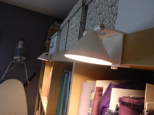 Sewing Room:  Decorative lighting