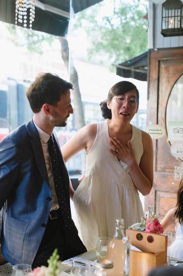 Celine Kim Photography intimate High Park Parkdale restaurant wedding Toronto wedding EM-90