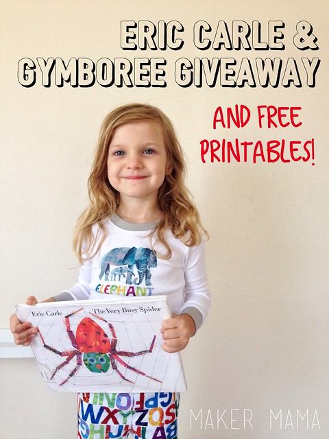 Eric Carle & Gymboree Giveaway
