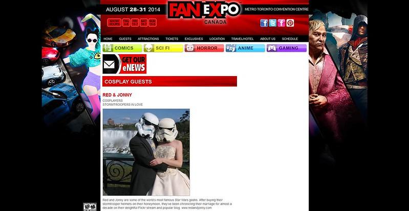 Toronto Fanexpo 2014