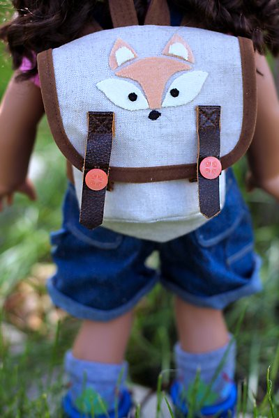 Taryn's Pack with Foxy Applique