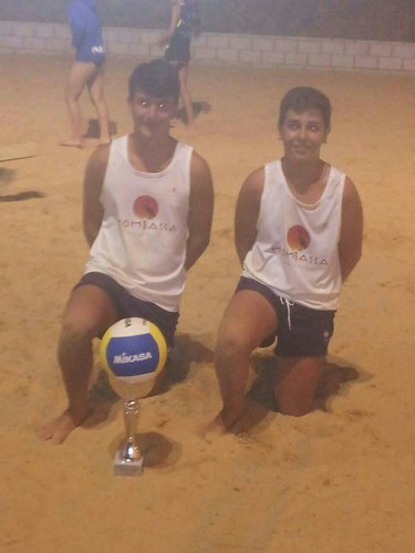 AionSur 15029603051_33f6bee889_d  Carlos Ramos – Antonio Manuel Saucedo hijo y José Manuel López y Antonio Manuel Saucedo, parejas ganadoras del torneo de voley playa de Paradas Deportes
