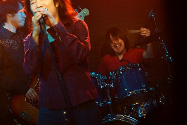 Molten Gold live at Crawdaddy Club, Tokyo, 13 Sep 2014. 041