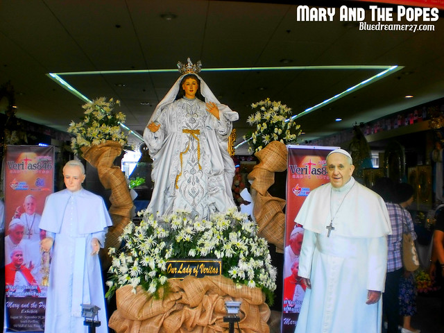 Mary and the Popes Exhibit