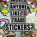 STICKER TRADE by ROLLINxVOGUES