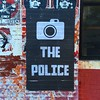 Photograph the Police #streetart #pastedpaper  #somerville #obeygiant