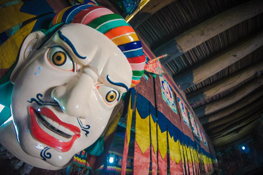 Ритуальные маски. Монастыри Ладакха (Монастыри малого Тибета) © Kartzon Dream - авторские путешествия, авторские туры в Ладакх, тревел фото, тревел видео, фототуры