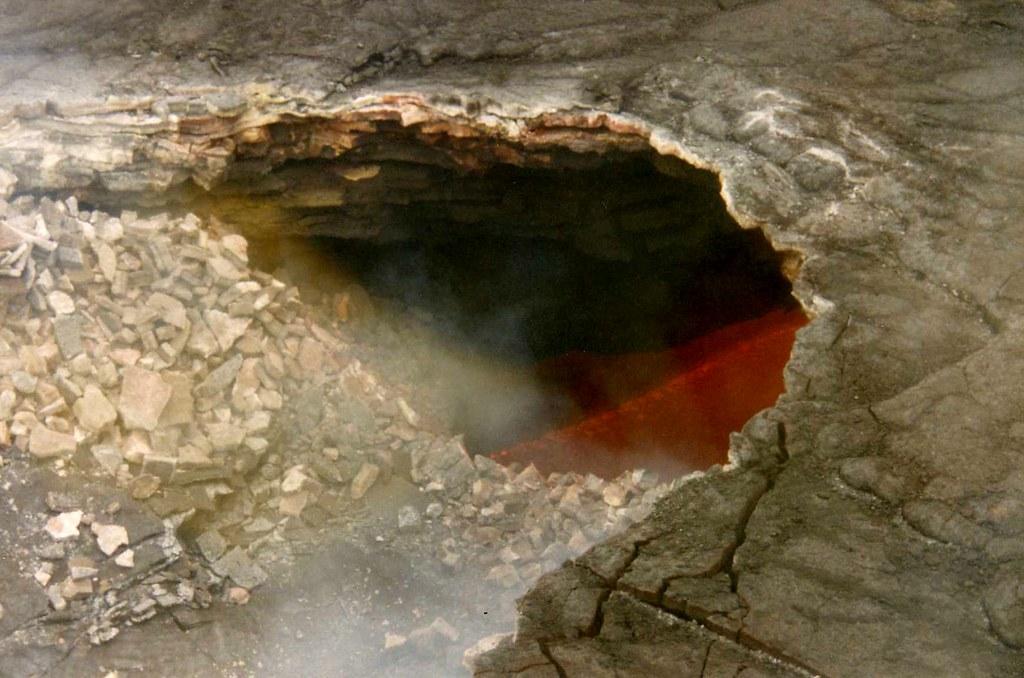 Volcano Lava flow 1994