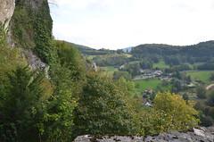Ferrette.Vue depuis le château de Ferrette.3