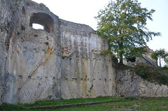 Ferrette.Les ruines du château de Ferrette.8