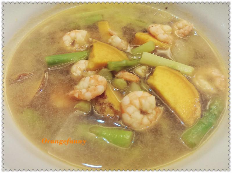 140901 地瓜蝦湯