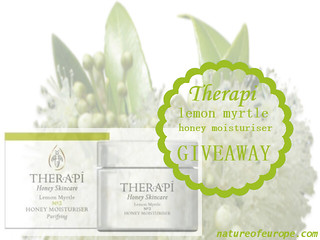Therapi Lemon Myrtle Moisturiser Giveaway