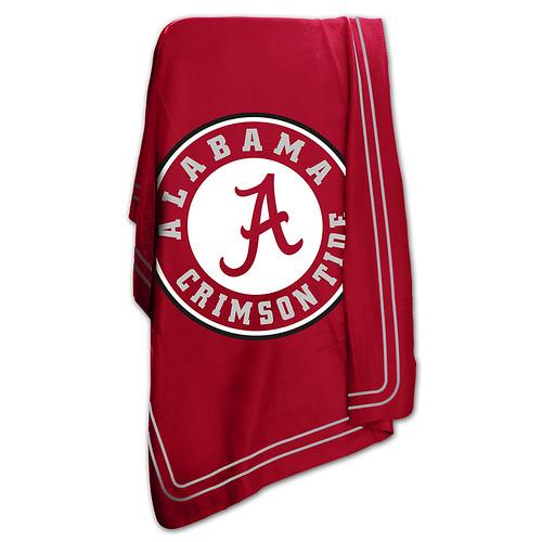 Alabama Crimson Tide NCAA Classic Fleece Throw